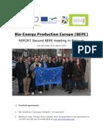 Meeting Report BEPE Meeting #2 Belgium