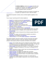 Estrutura algébricas
