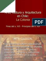 Arte Cultura y Arquitectura de Chile en La Epoca Colonial