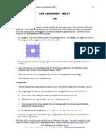 Lab Assignment AB23.1 - Life