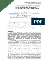 Mapeamento de fluxo de processo no diagnóstico do fluxo de informação cliente-fornecedor