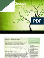 Growth Groups Summer Catalog 2012