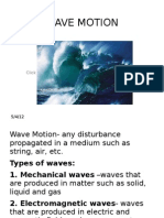 WAVE MOTION Ppt Lecture Part 1