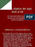 Estilos y Objetos Del Siglo XVII Al XX