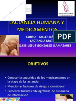 Lactancia Humana y Medicamentos