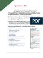 Acrobat Digital Signatures in PDF