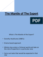 The Mantle of the Expert