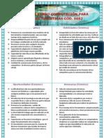 Analisis F.O.D.a. Del Curso