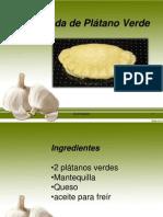 Empanadas de Platano Verde