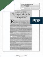 """""""Lo que sí es la franquicia"""" 5 de Febrero de 1996-El Universal Analisis Del IPADE"""
