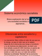 Sistema económico socialista