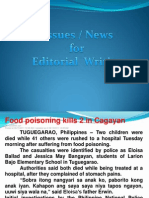 News for Editorial
