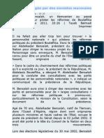Bouteflika Ses Parrains Et Ses Larbins