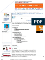 Sample - Software Requirements Specification for Hospital Info Management System