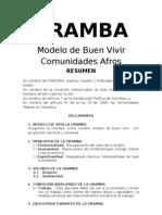 DT Eje - Etnodesarrollo LOS PALENKES-Modelo de Vida Uramba