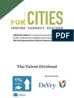 Washington DC Talent Dividend Presentation