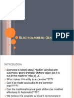 Electromagnetic Gear Shifter2