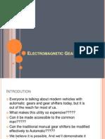 Electromagnetic Gear Shifter2