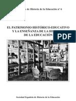 Cuadernos Patrimonio Cultural Escolar