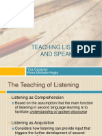 Teaching Listening and Speaking 2