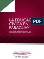 La educación cívica en Paraguay - Análisis Curricular - Semillas para la Democracia