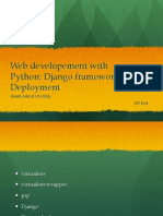 Web Development With Python - Django