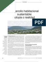 Desarrollo Habitacional Sustentable