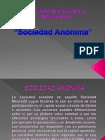 Presentacion de Sociedad Anonima