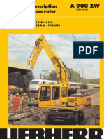 Liebherr a900 Service Manual