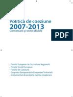 coeziune 2007-2013