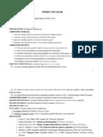 Proiecte de Lectie Clasa a 7-A