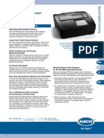 Hach DR3800 Data Sheet