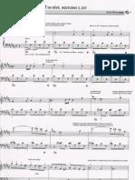Liszt, en rêve Nocturne n°2 N°61
