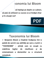Taxonomia Lui Bloom