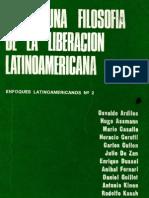 ARDILES, Osvaldo Et Al - Hacia Una Filosofia de La Liberacion a [PDF]