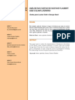 Teoria e Analise Das Cartas de Gustave Flaubert