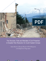 The Structure, Role and Mandate of Civil Protection - Europe