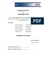 Table of Content of Amusement Park 20-04-2012