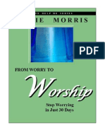 From Worry to Worship Excerpt