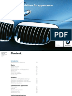2009 Logo Guidelines BMW