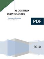 Manual de Estilo Del Panorama Argentino 11