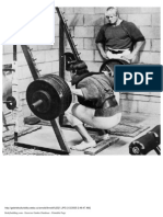 Weightlifting Training Database Book