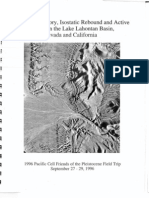 Quaternary History of Lake Lahontan-Basin Nevada