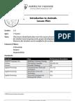 Introduction to Animals PDF