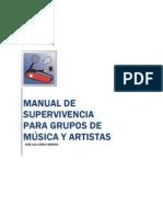 """Curso marketing y promoción musical. Manual de supervivencia para grupos de música y artistas"""""""