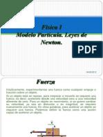 Física I, 03Modelo Partícula. Leyes de Newton