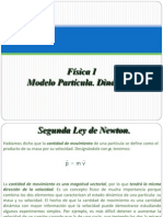 Física I, 04Modelo Partícula. Dinámica