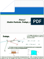 Física I, 06Modelo Partícula. Trabajo y Energía