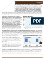 Financial Markets and the Long Term Debt Outlook