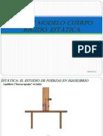 Física I, 11Modelo Cuerpo Rígido, Estática, Rotación y traslación combinadas